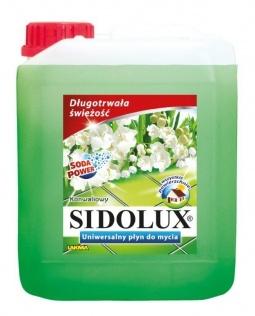 SIDOLUX płyn do mycia podłóg: konwalia 5L