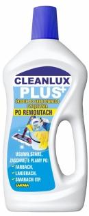 CLEANLUX PLUS środek do gruntownego czyszczenia po remontach 750 ml