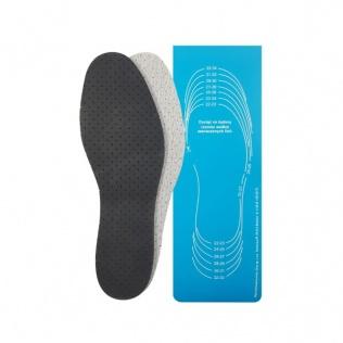 SECO Wkładki do butów antypotne perforowane z węglem aktywnym do docięcia (dziecięce)