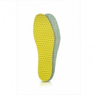 SECO Wkładki do butów latex zielono-żółty r. 45