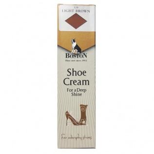 SECO Krem w tubce do butów i skóry Boston jasny brąz 50 ml