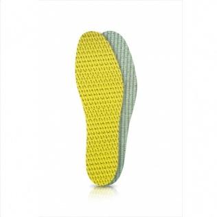 SECO Wkładki do butów latex zielono-żółty r. 38