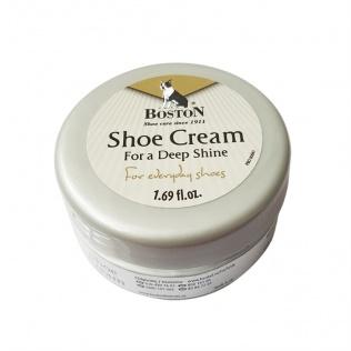 SECO Krem do butów i skóry Boston w słoiczku biały 50 ml
