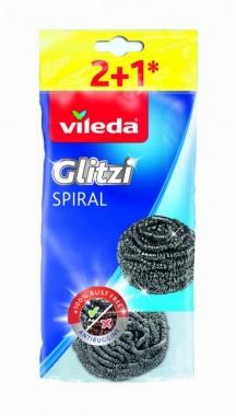 VILEDA Zmywak stalowy Glitzi Spiral INOX