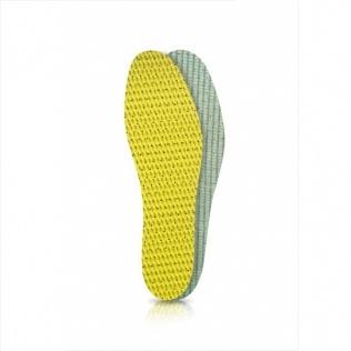 SECO Wkładki do butów latex zielono-żółty r. 37