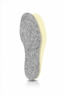 SECO Wkładki do butów Filc + Latex r. 42