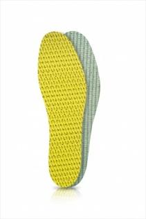 SECO Wkładki do butów latex zielono-żółty r. 42
