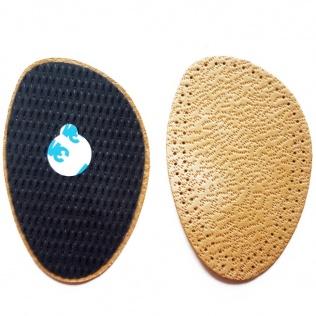 SECO Półwkładki do butów z naturalnej skóry owczej z mocowaniem r. 35/36